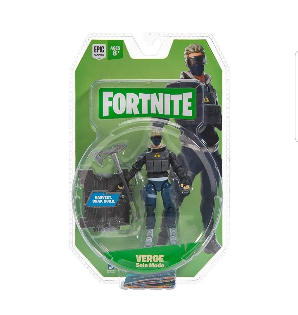 Fortnite Solo Mode Core Figure Pack Hopper NEW 2020