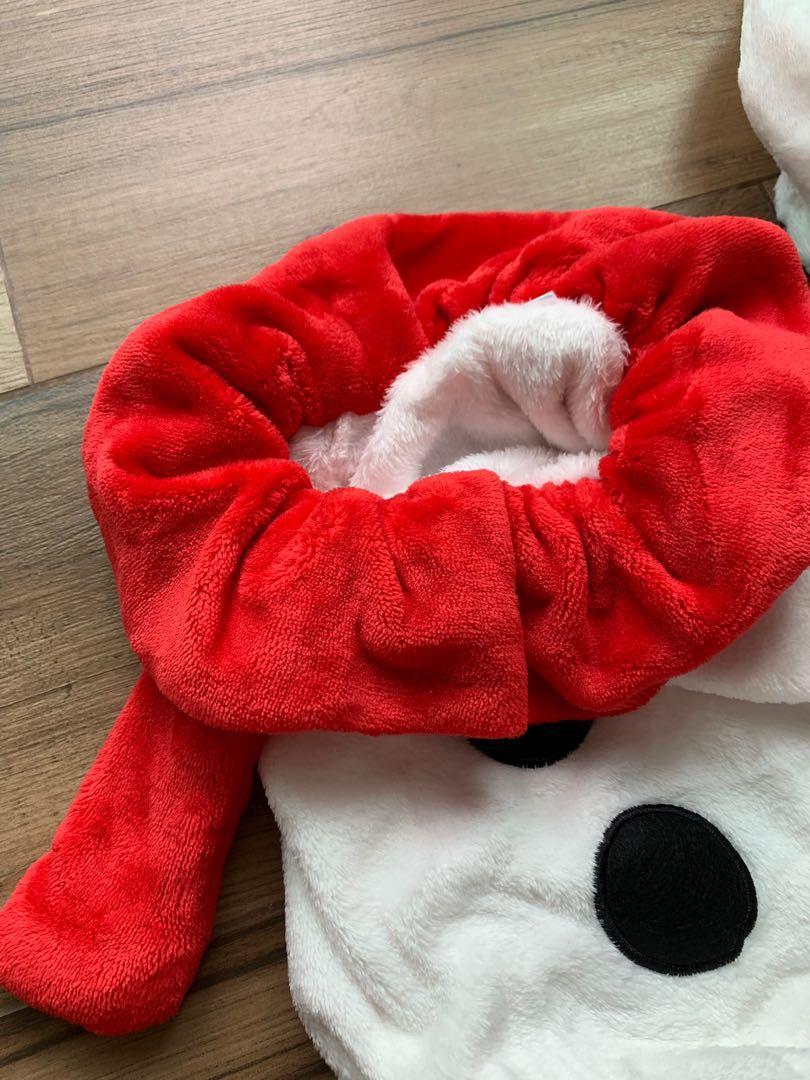 Funny Christmas snowman costume 聖誕衫