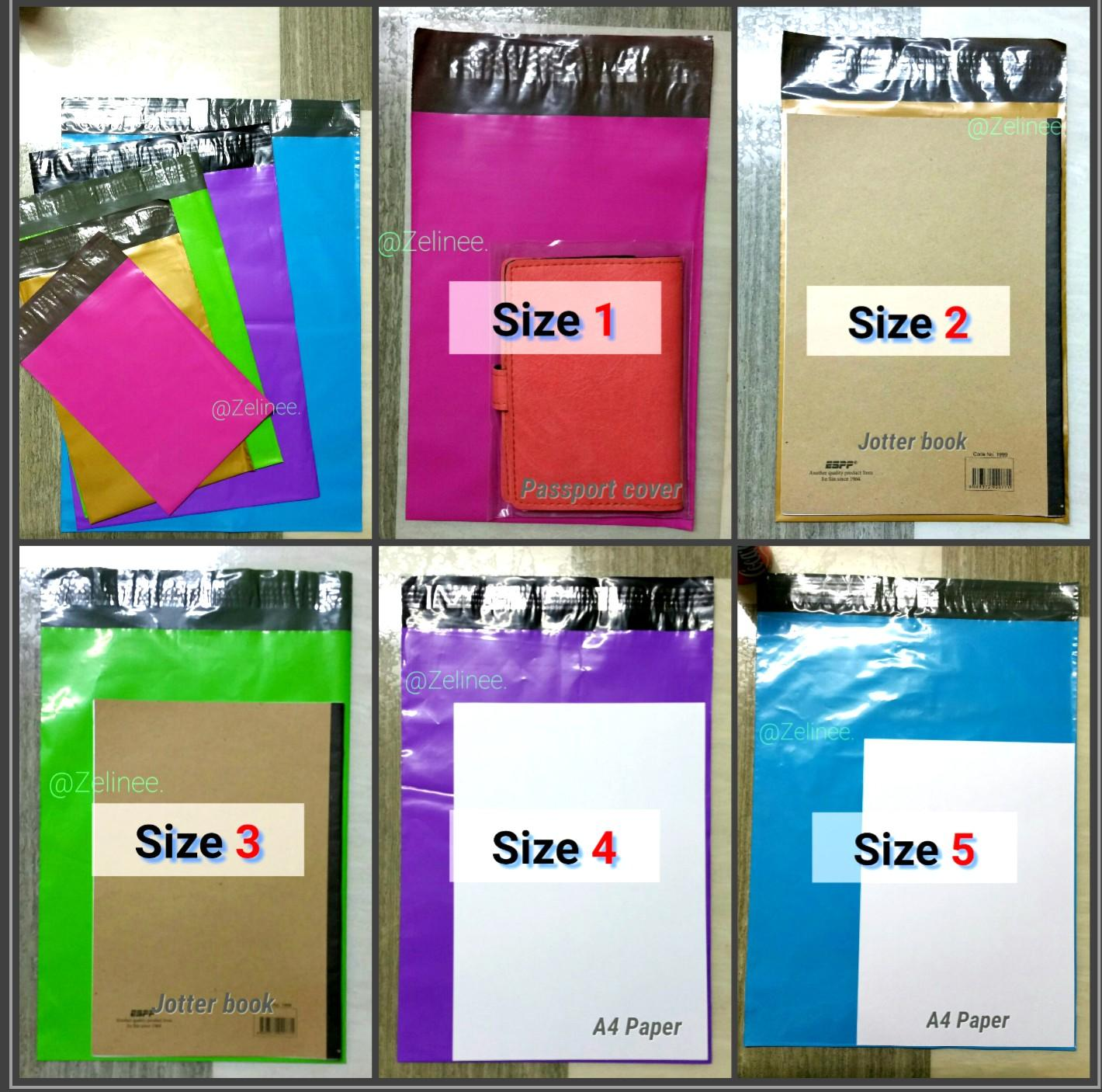 (Great Quality👍 COLOURED Polymailers