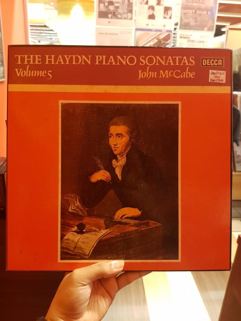 Haydn,John McCabe –The Haydn Piano Sonatas Volume 1-5 Boxset