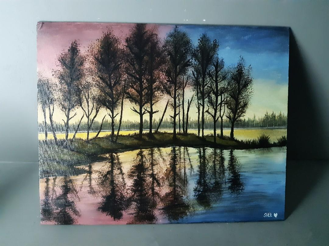 High Quality Acrylic HandPainted on Canvas by SheesArt