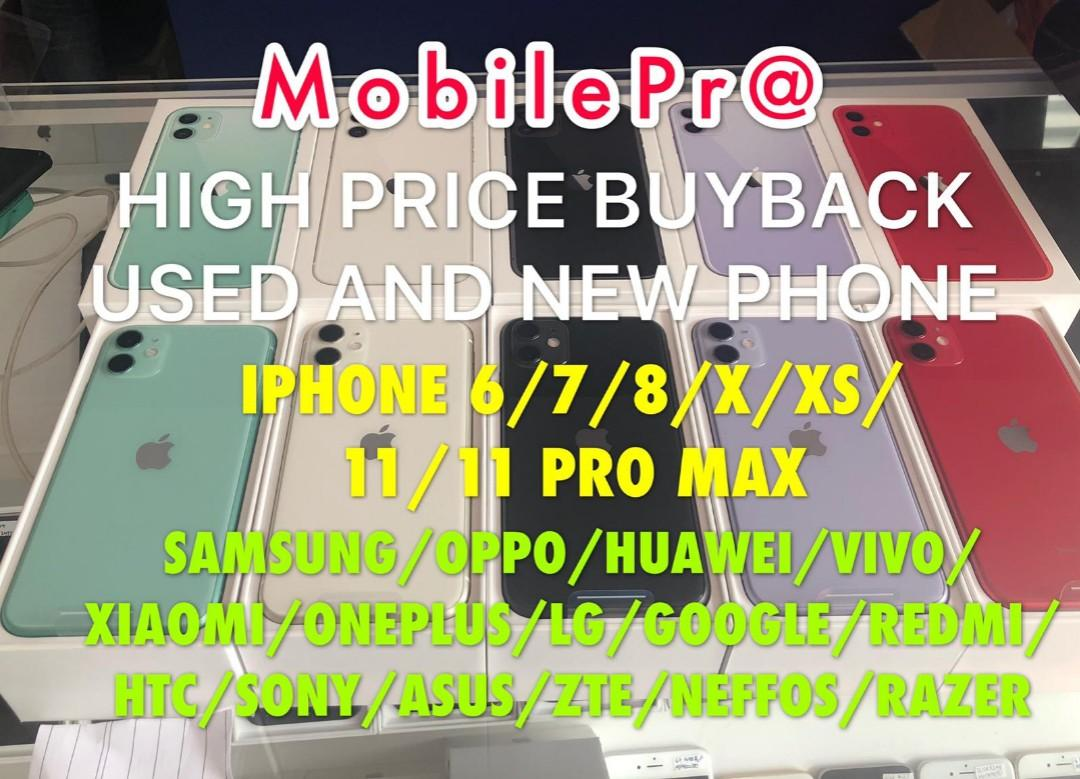 Highest buyback for used and new iphone