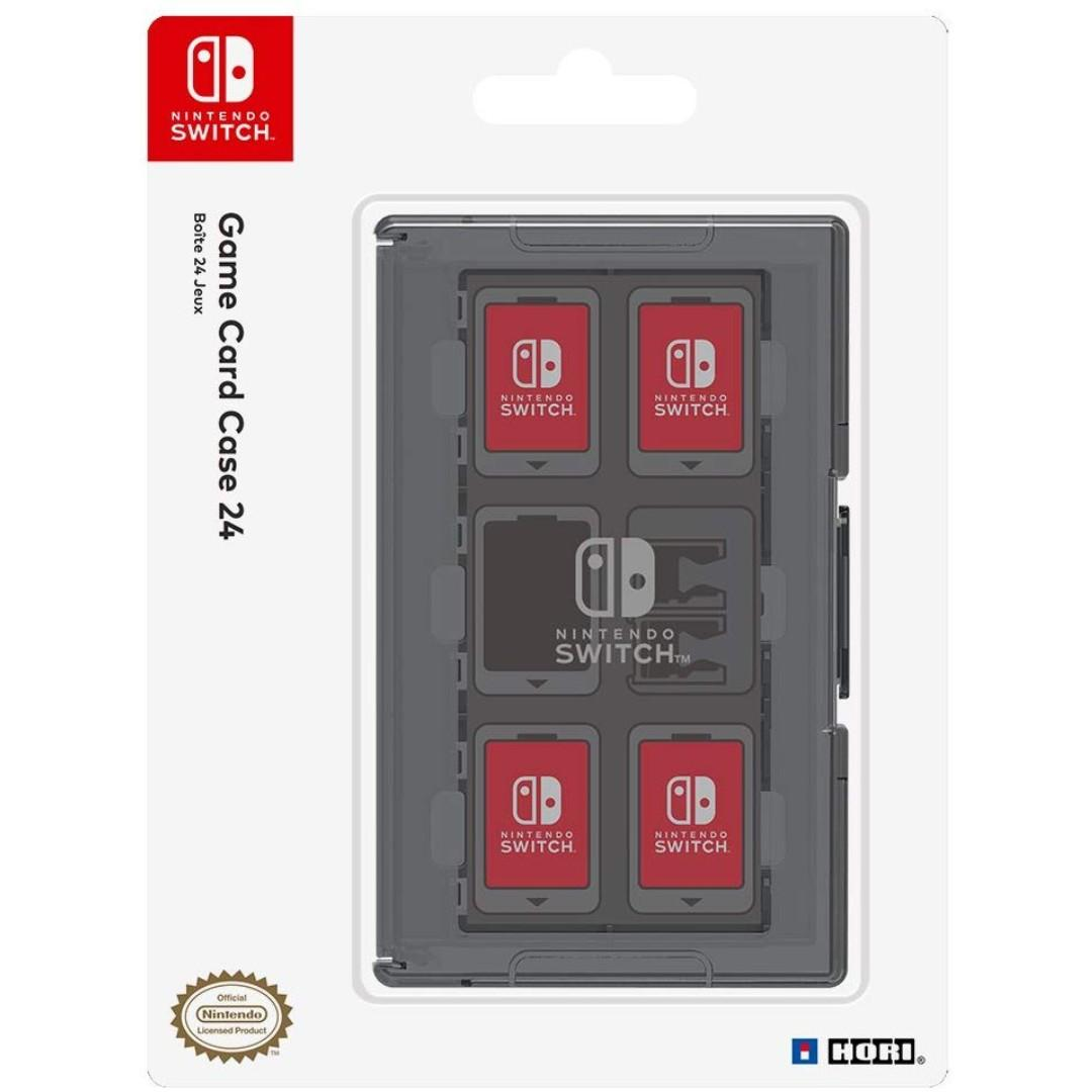 HORI Game Card Case 24 for Nintendo Switch - Officially Licensed by Nintendo