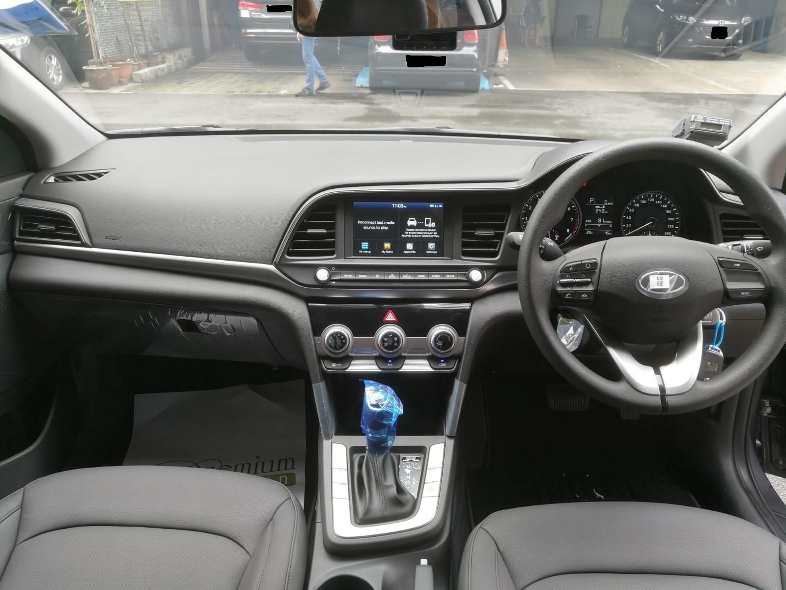 Hyundai NEW AVANTE 1.6A (GREY)