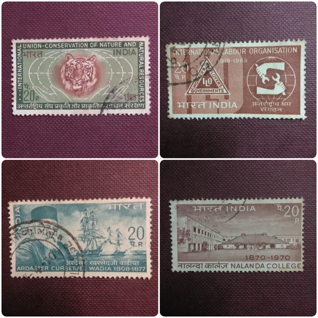 India mix stamps