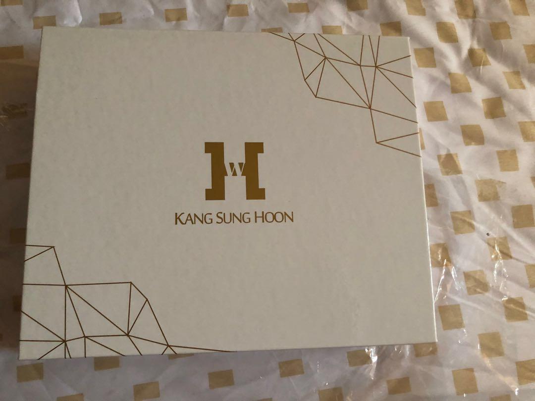 Kang sun Hoong official fansclub membership kit clearing stock