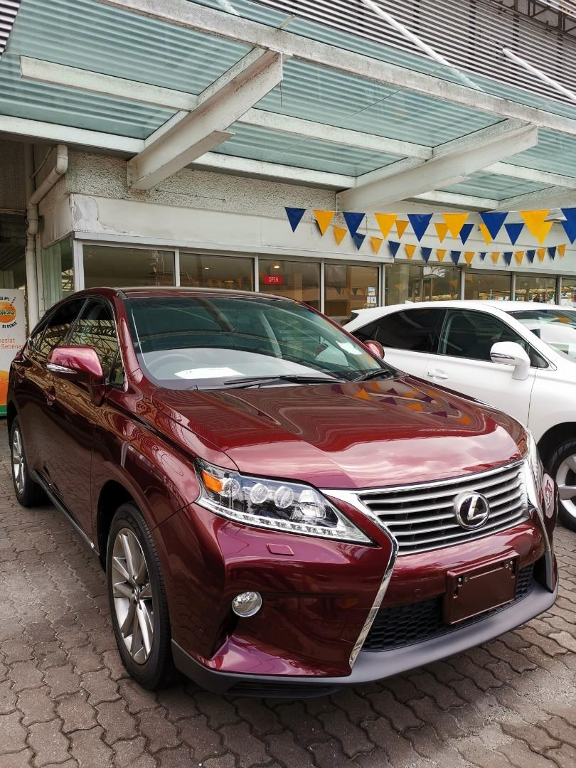 LEXUS RX270 FACELIFTED F SPORT 2.7 (A) 2013 @ UNREG Re-Cond