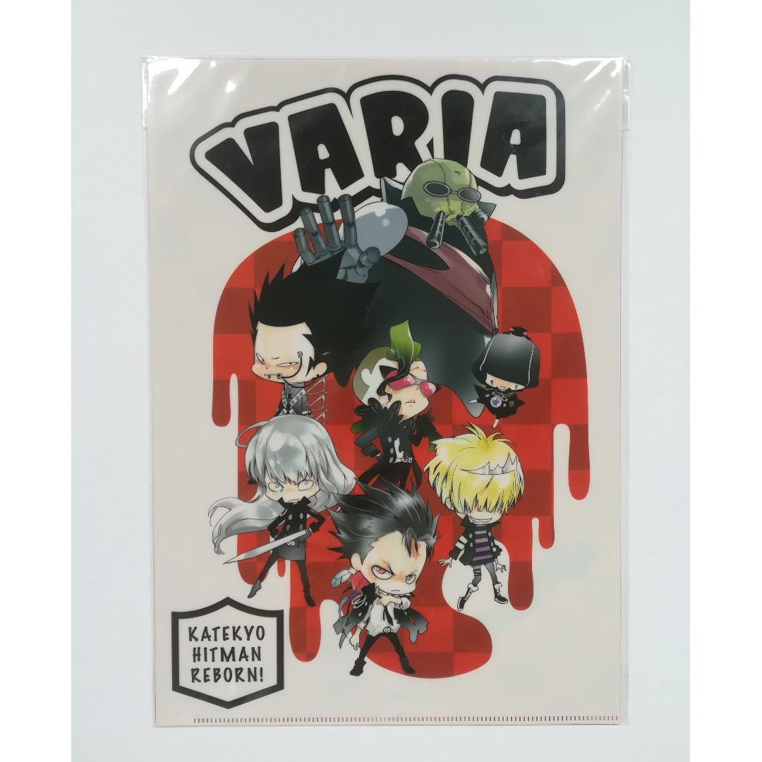 (Limited + Exclusive) Katekyo Hitman REBORN! ~NEW Akira Amano Exhibition in KYOTO~ - Clear File