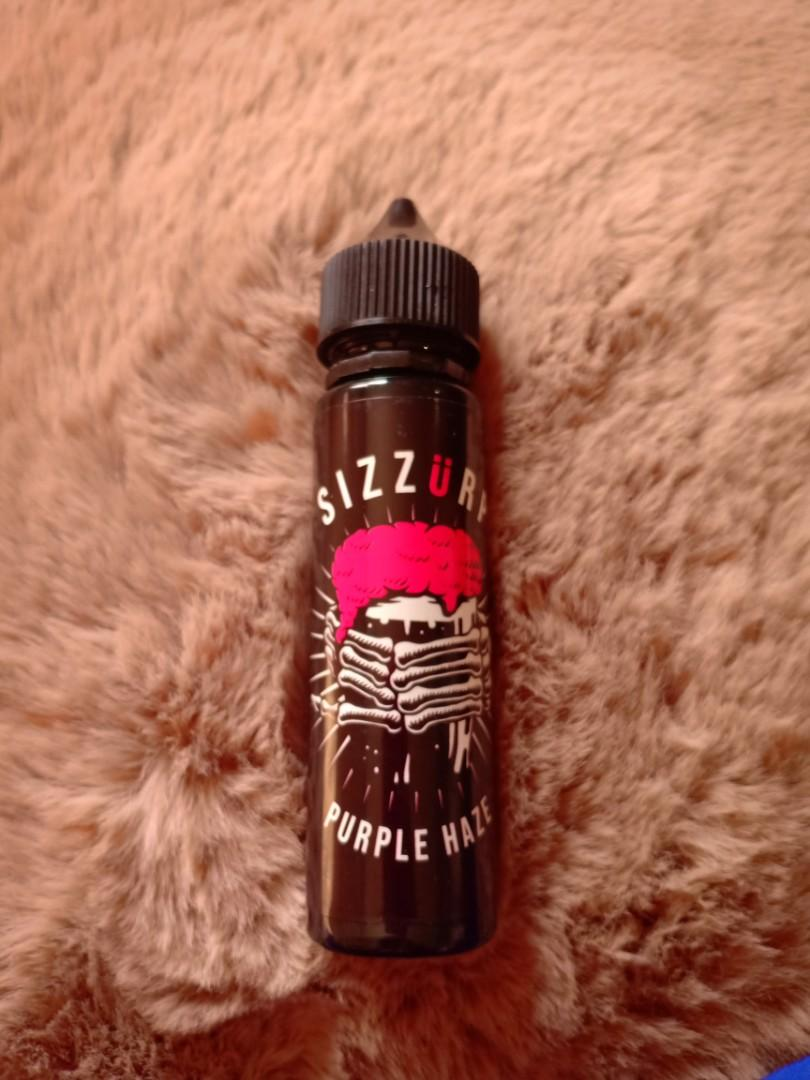 Liquid Vape sizzurp purple haze