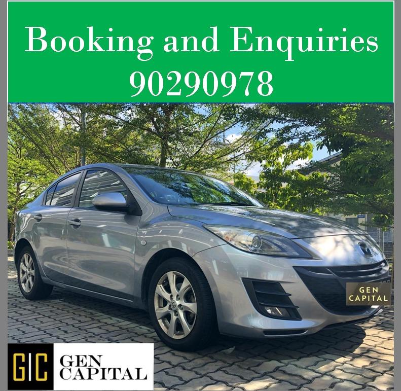 Mazda 3 - Lowest rental rates, with the friendliest service!
