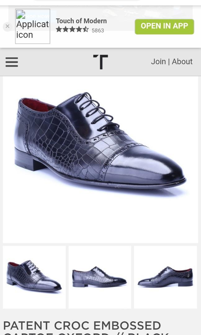 Men's shoe S Baker