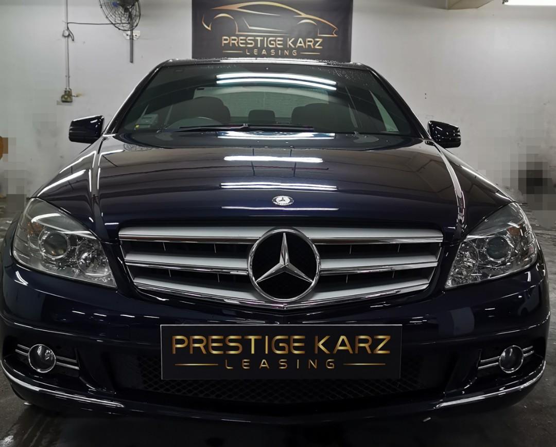 Mercedes-Benz C180K for rental!