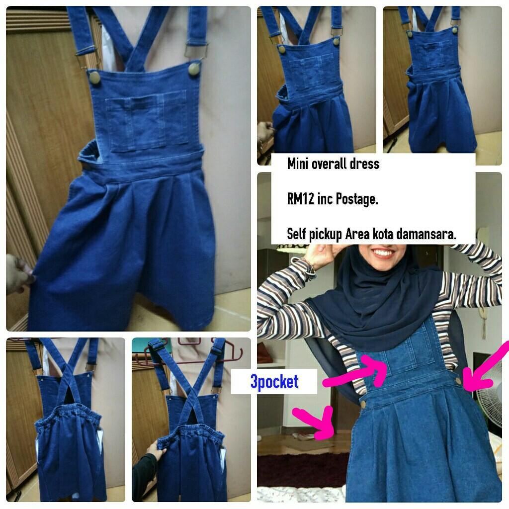 Mini Overall Dress