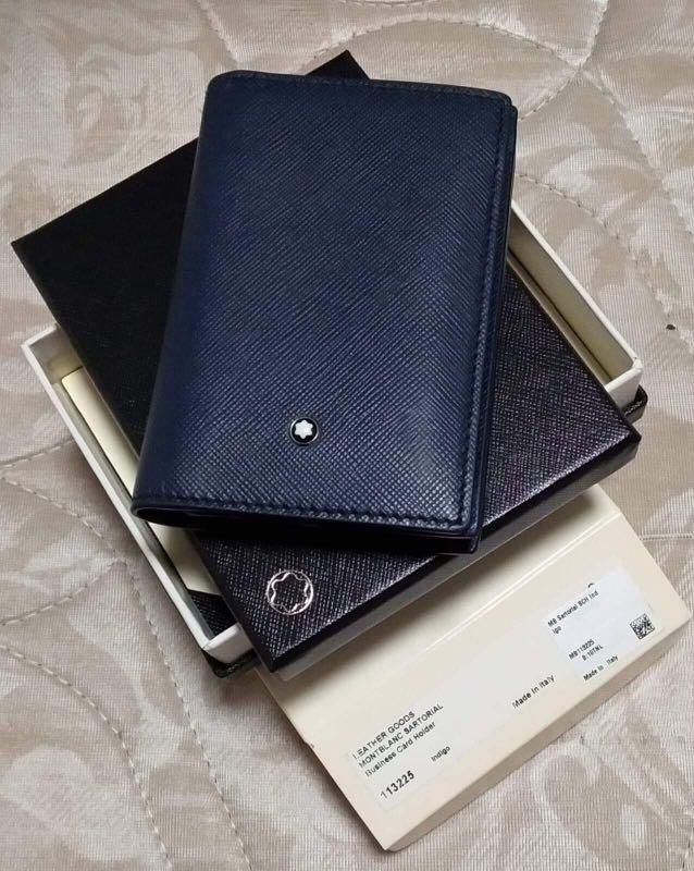 Authentic Montblanc Sartorial Business Card Holder