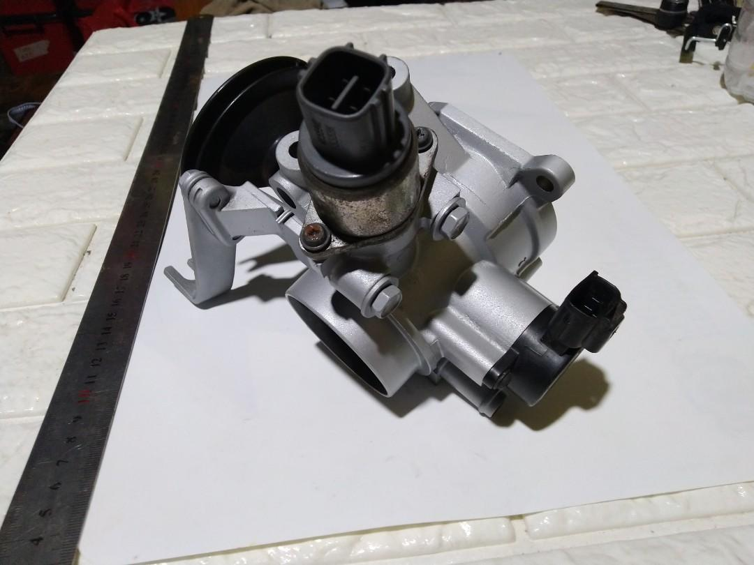 Myvi throttle body recond halfcut
