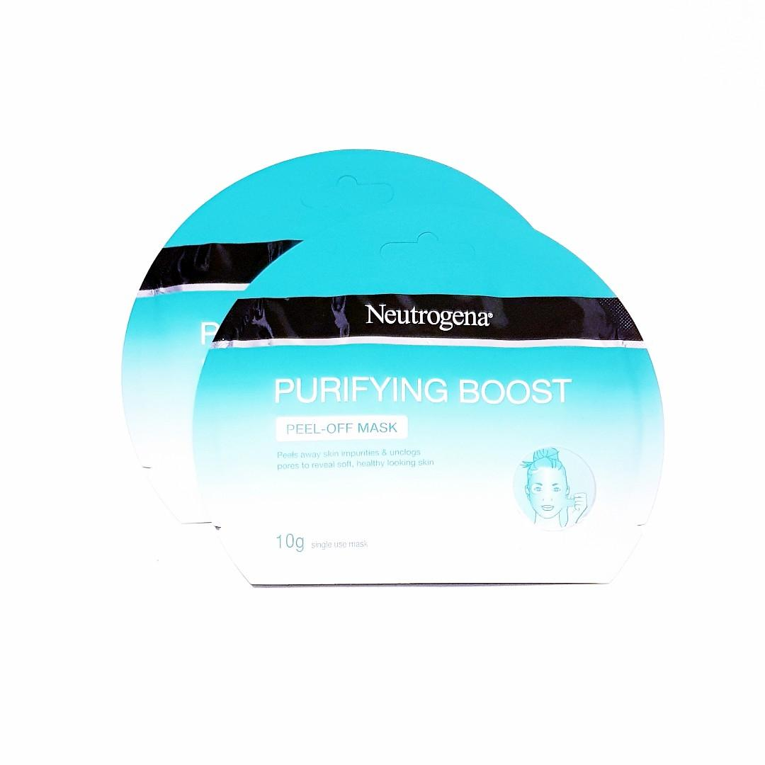 Neutrogena Purifying Boost Face Peel Off Facial Cleansing Mask