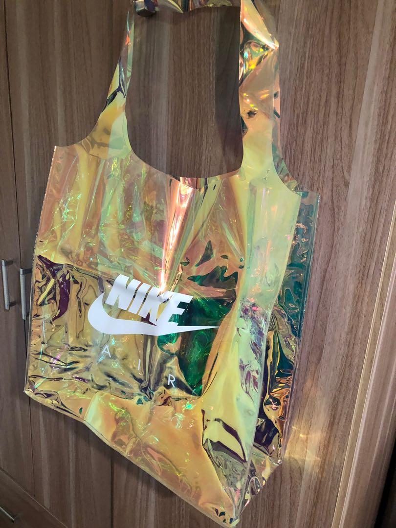 Nike 彩虹大購物袋
