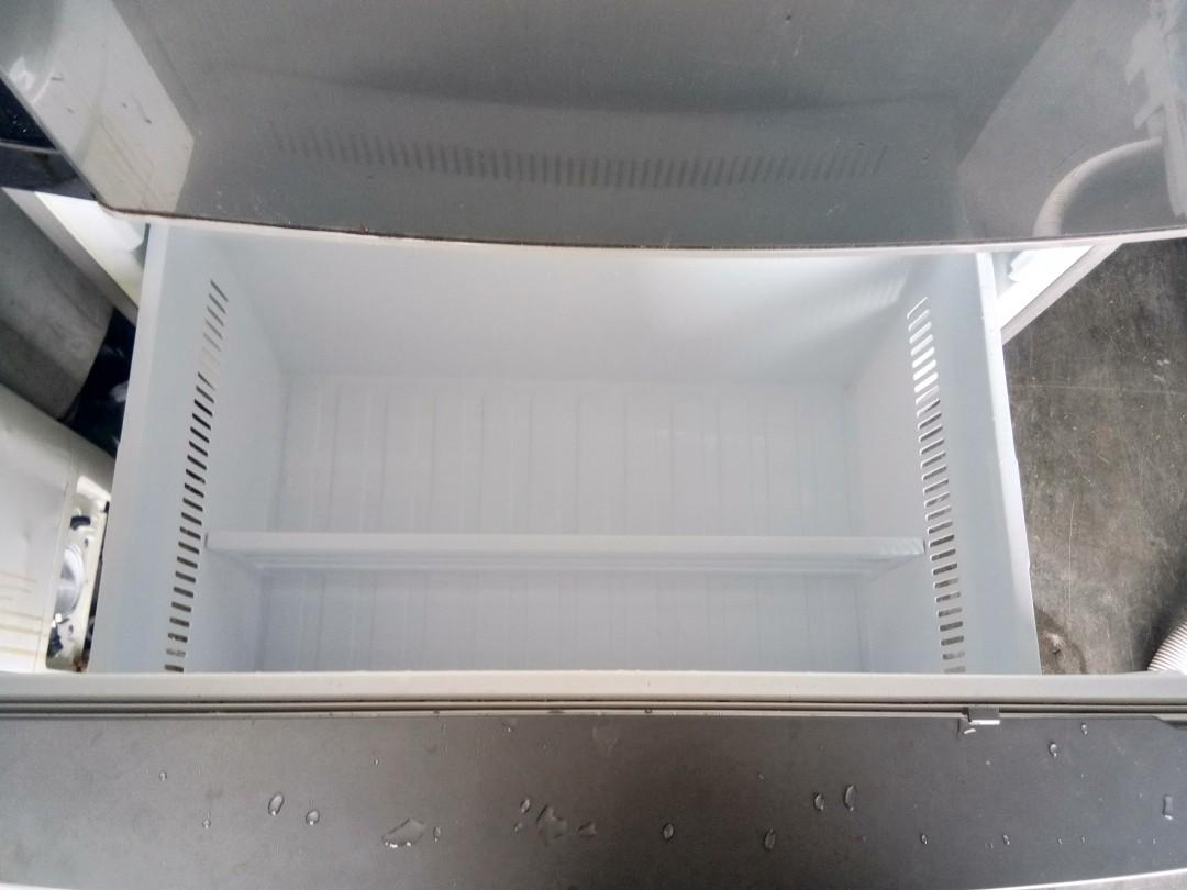 Peti sejuk refrigerator fridge panasonic inverter 600liter