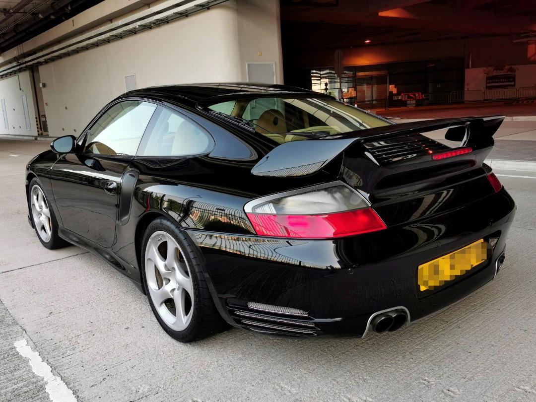 PORSCHE 996 TURBO 2001