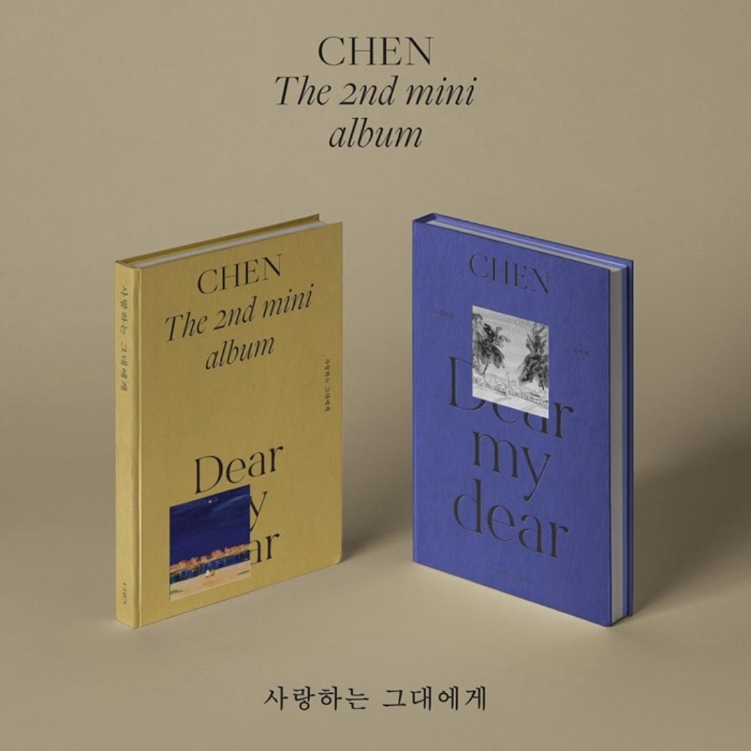 [PREORDER] 첸 (CHEN) - 사랑하는 그대에게 (DEAR MY DEAR) / 2ND MINI ALBUM