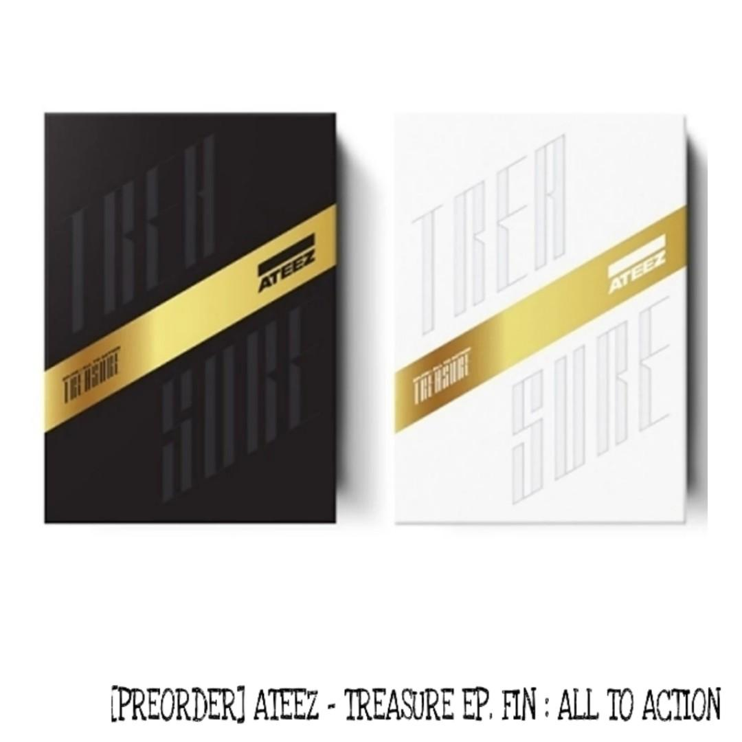 [PREORDER] ATEEZ - TREASURE EP.FIN : ALL TO ACTION
