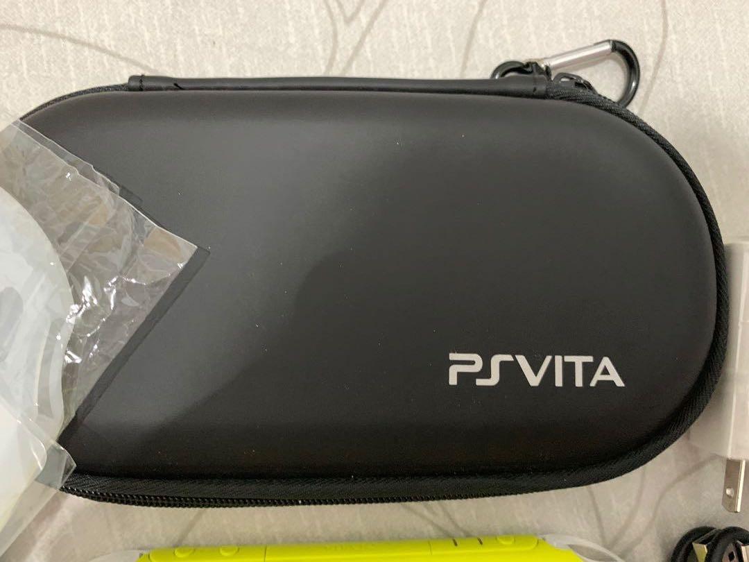 PSVITA 2007 9.9成新 主機+海賊王遊戲/8g記憶卡/完整配件保護貼/J群星 數值版遊戲/青蘋綠