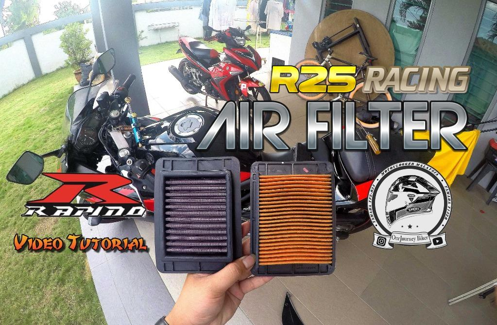 Rapido | Yamaha R25 Racing Air Filter | 100% Original