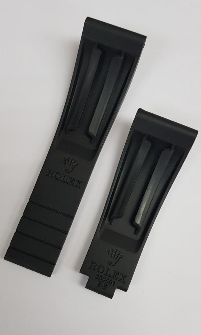 Rolex Oysterflex 20mm black