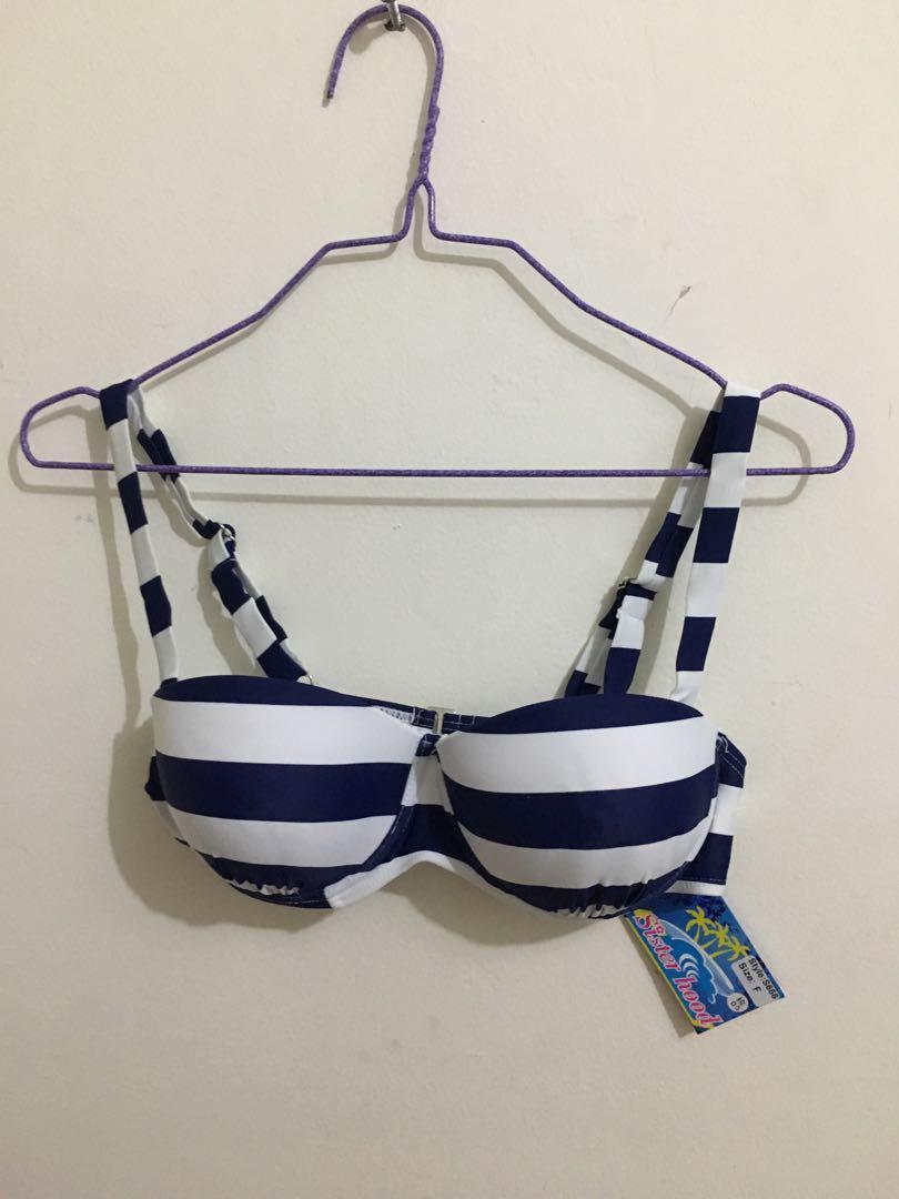 Sailor push up bikini / two pieces bikini / swimwear / swimsuit / baju renang