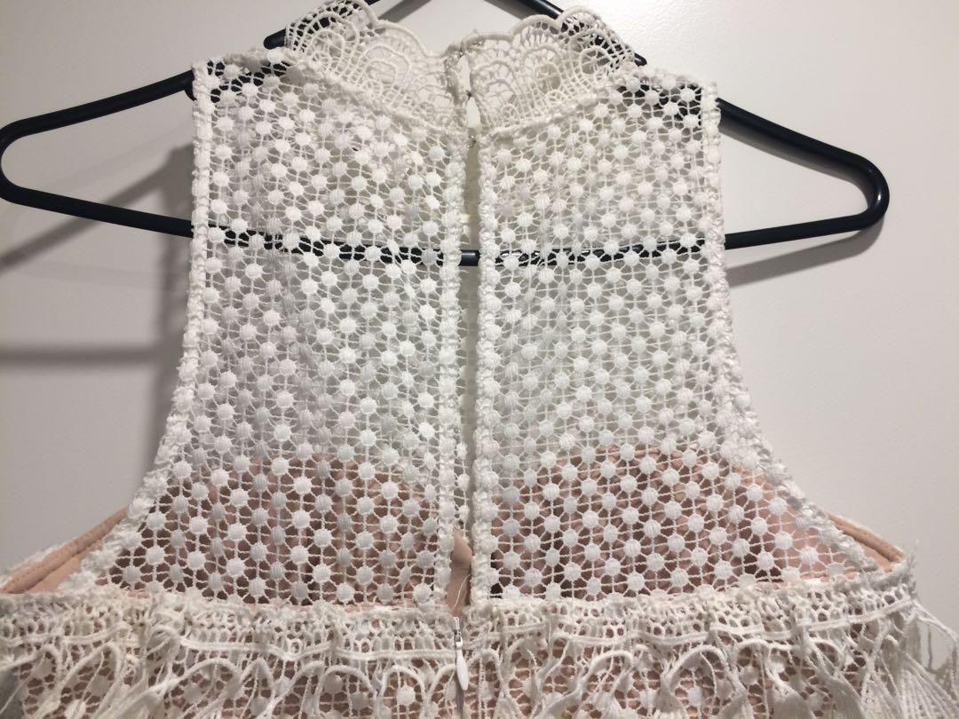 🌸🌸SEED Heritage size 8 crochet party cocktail dress🌸🌸