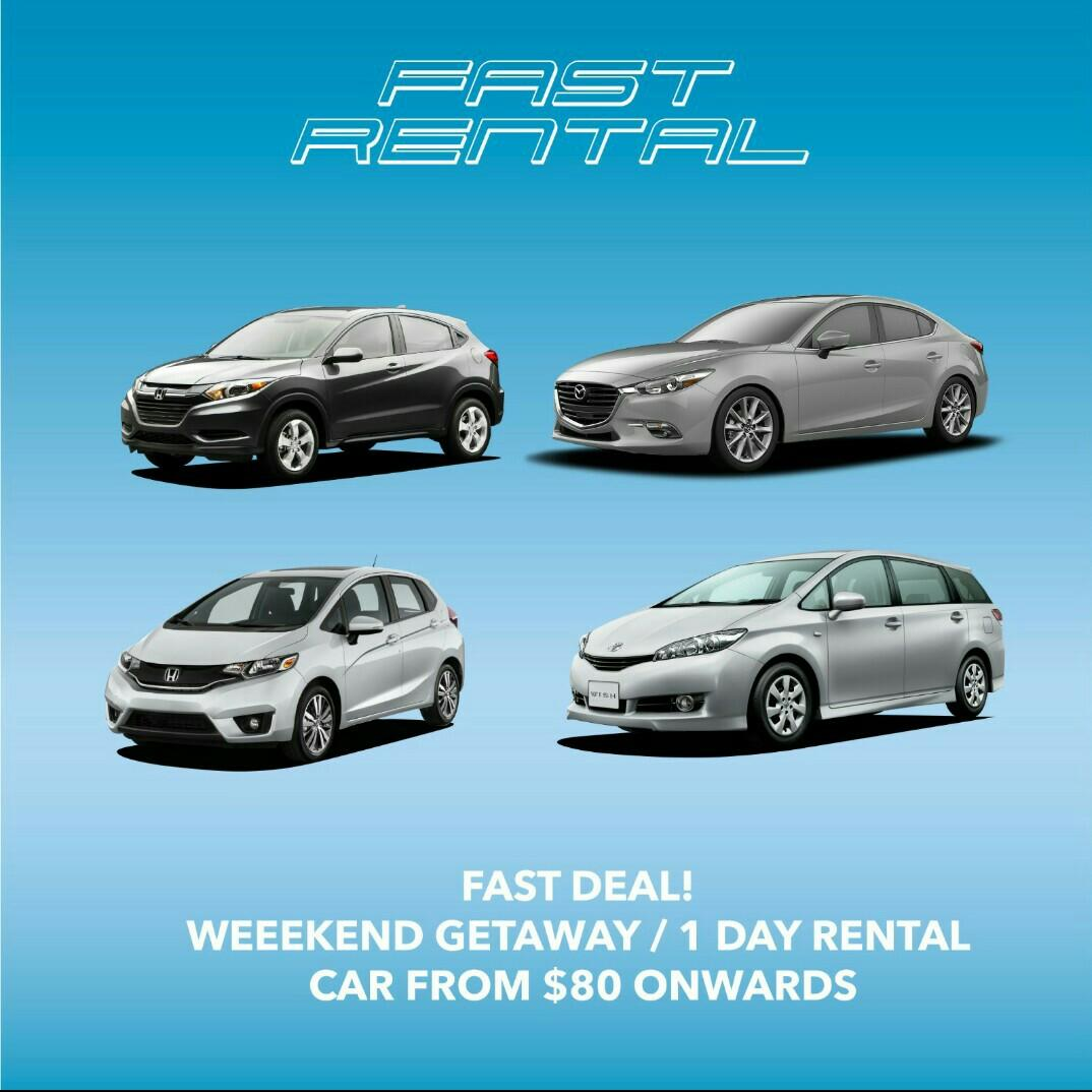 Short-term Daily Rental Promotion