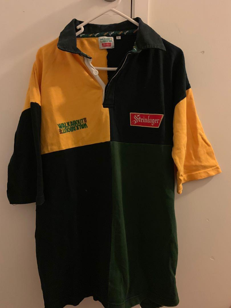 AUTHENTIC STEINLAGER Polo Shirt LARGE