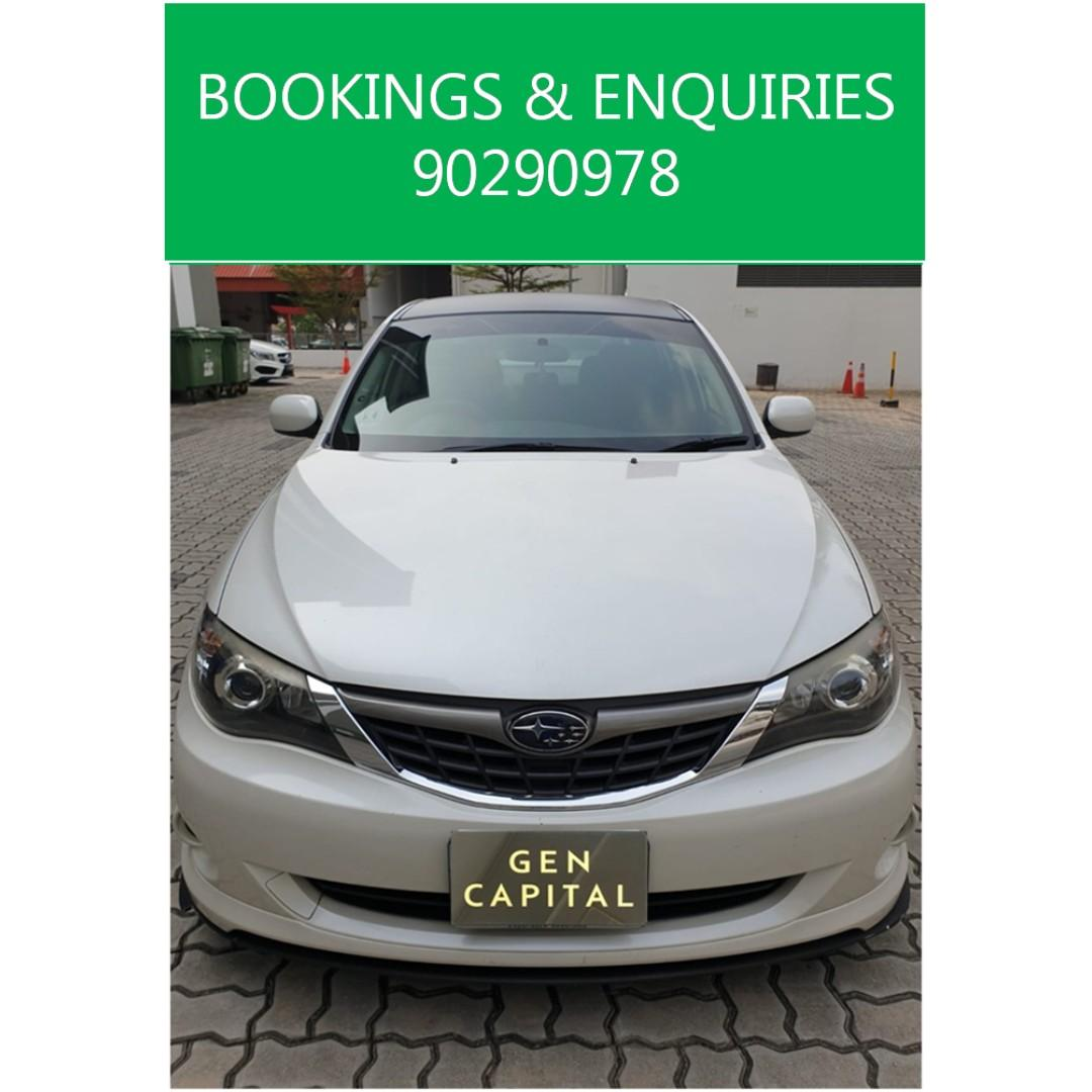 Subaru Impreza - Lowest rental rates, with the friendliest service!