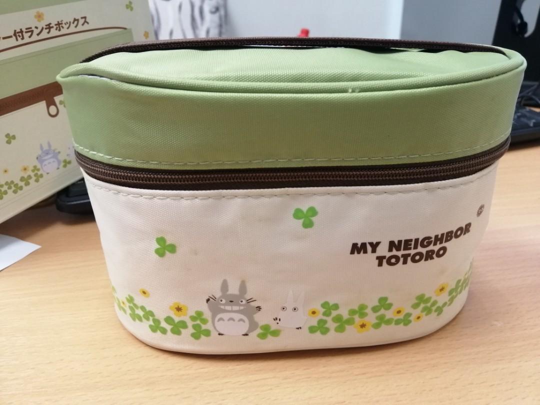Totoro lunchbox set