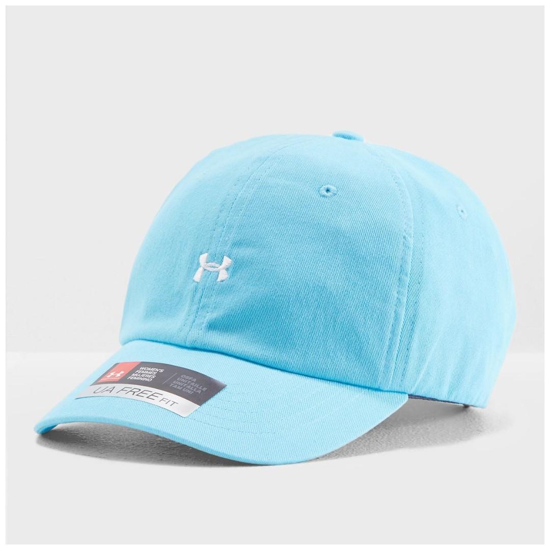 """UA Favorite Logo Cap "" Under Armour UA 全新 亮藍色 可調節 棒球帽 鴨舌帽 老帽 運動帽 球帽 帽子 1306295"