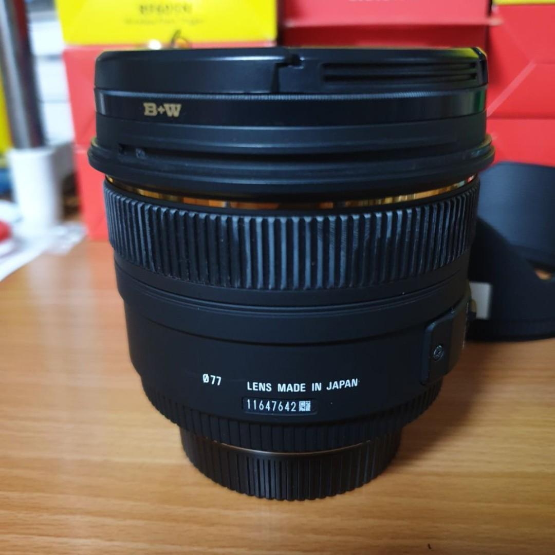 Used Sigma 50mm 1.4 DG HSM (Non Art) Lens Nikon Mount