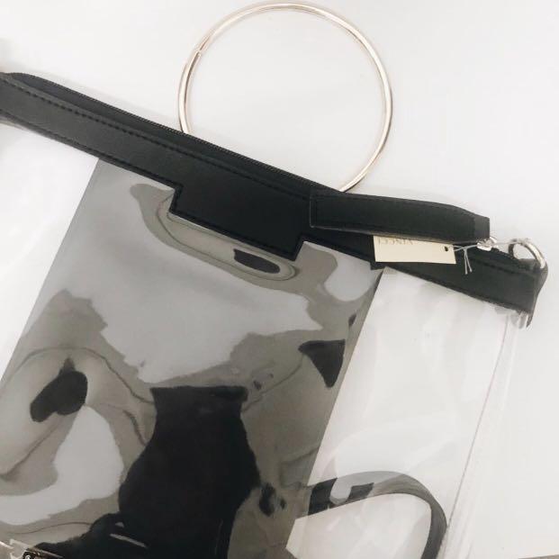 VINCCI Transparent Sling Bag
