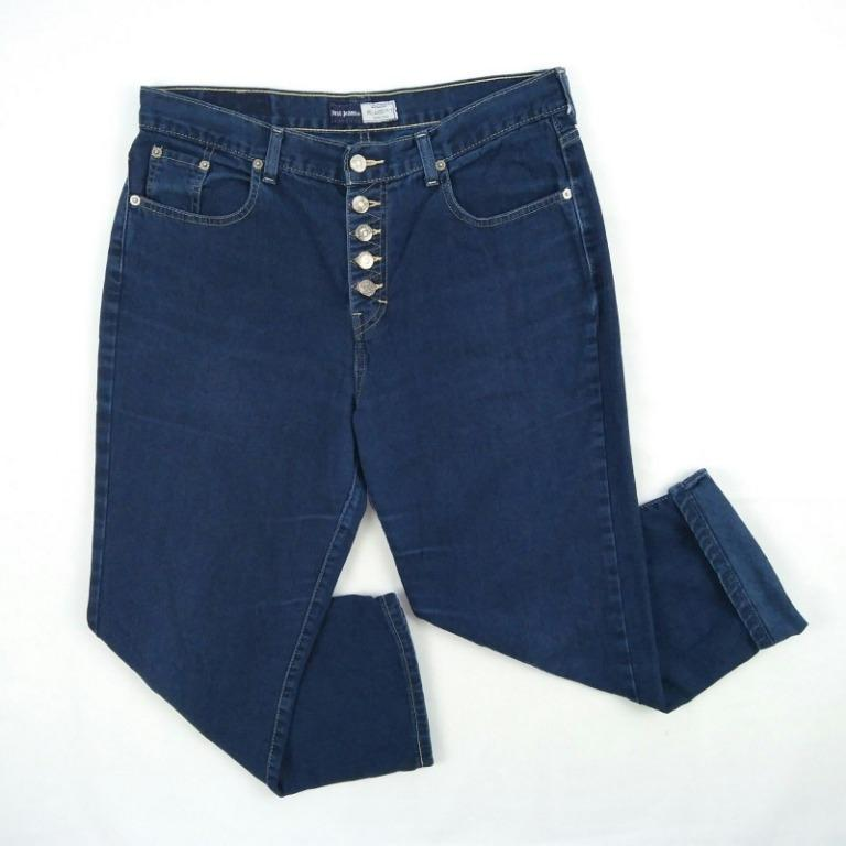 Vintage Just Jeans High waist Ankle Jeans Size 14 W32