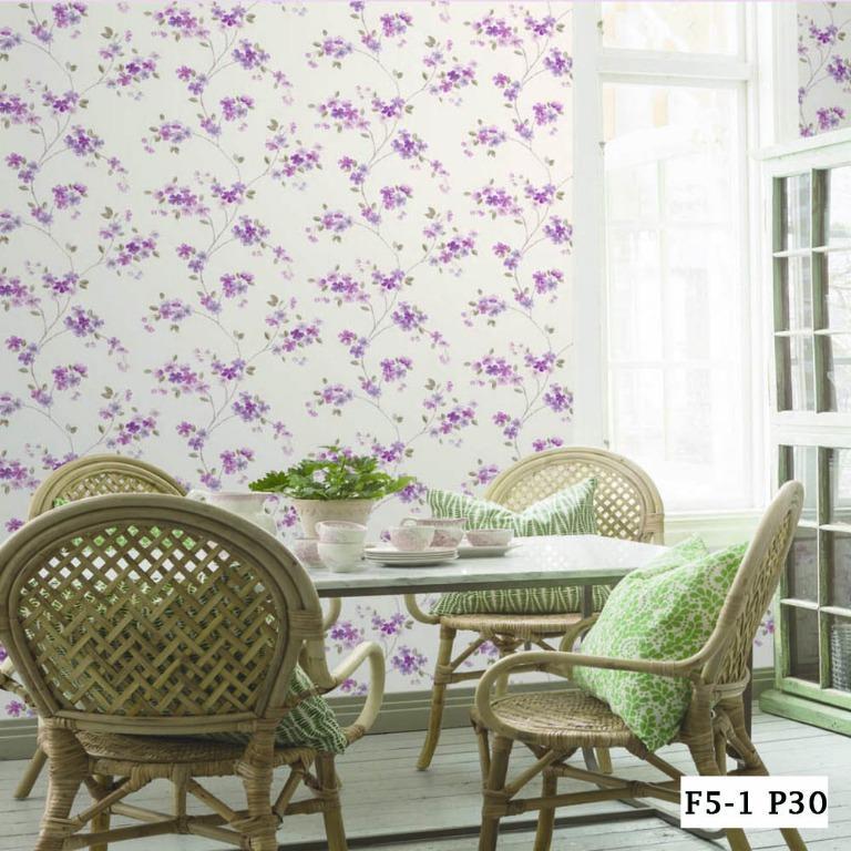 Wallpaper Dinding Terbaru 5m2 Motif Bunga Perabotan Rumah Di Carousell