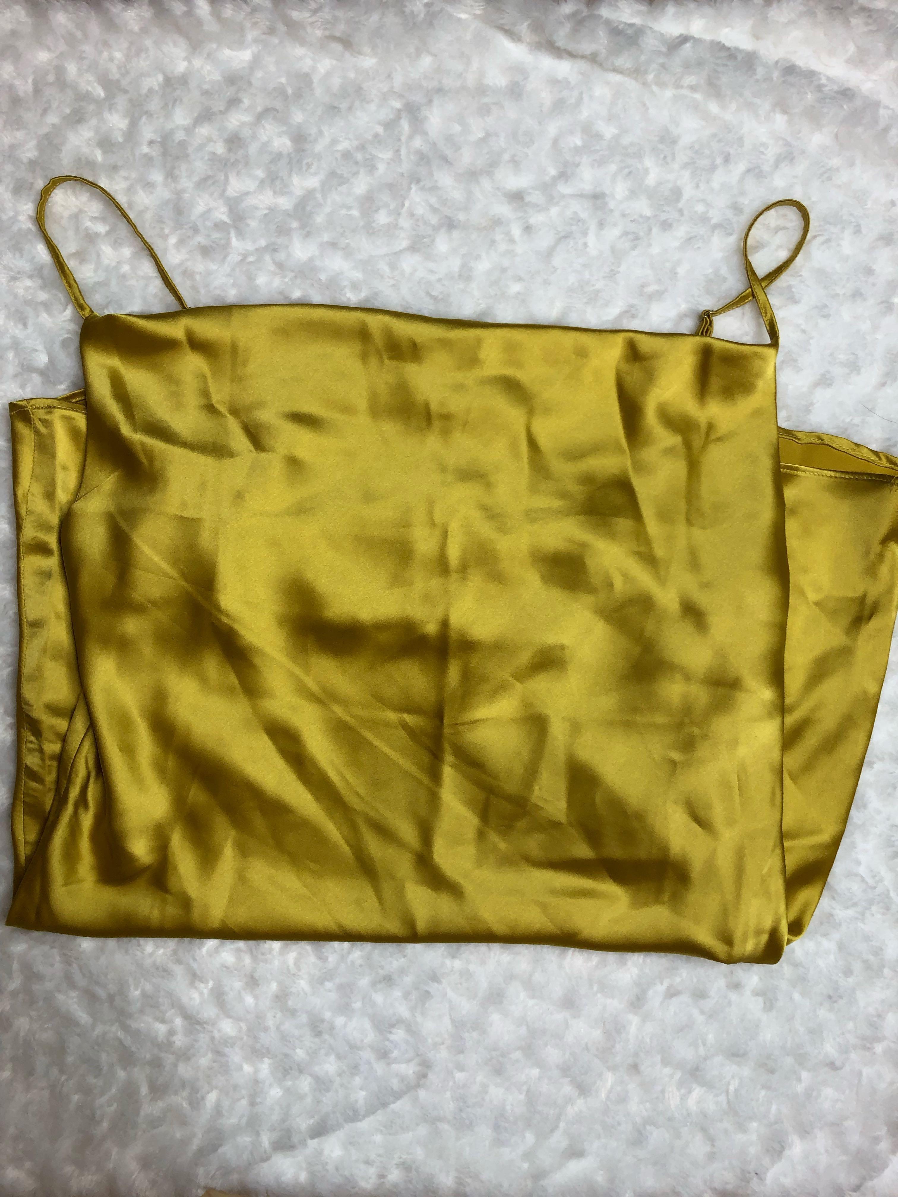Whitefox Boutique - Yellow slip dress - Size medium