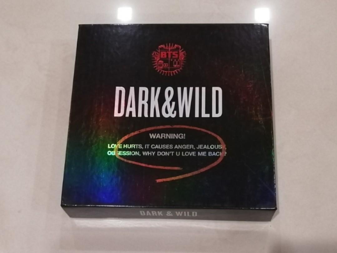 [WTS] BTS Dark and Wild Album