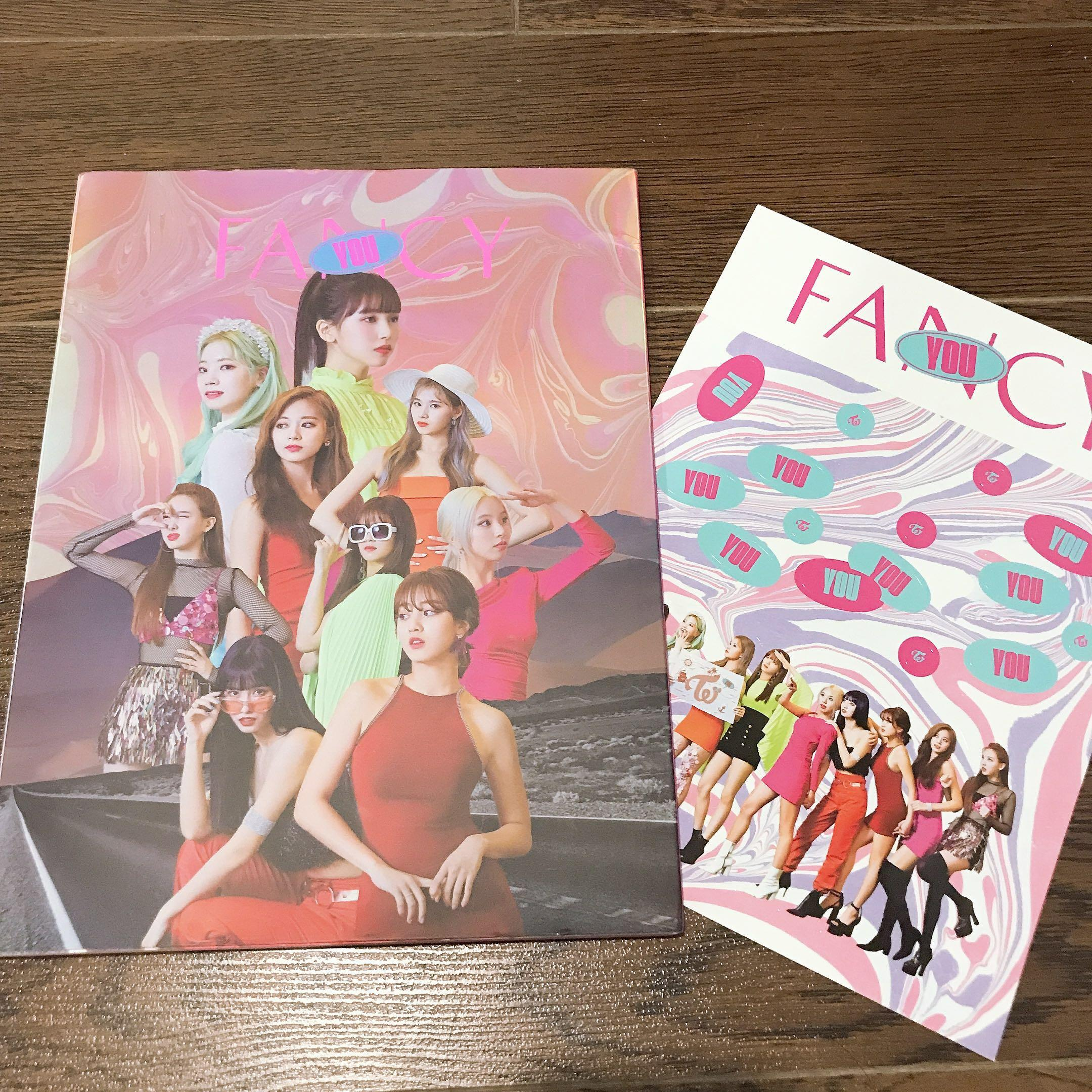 [WTS] TWICE Fancy You Ver. A Album + Preorder Photocard & Poster in tube