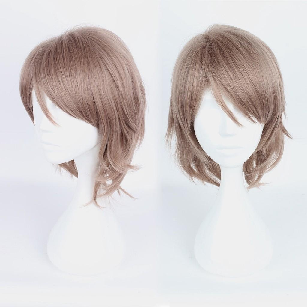 Readystock Watanabe You Cosplay Wig Love Live! Sunshine!! Cosplay Play Wigs Party Short Light Bright Hair