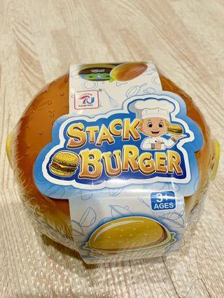 大漢堡盒 兒童玩具組 塑膠玩具