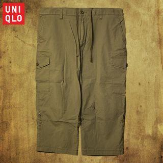 【不藏私】Uniqlo七分寬褲