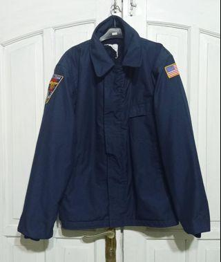 Jaket A2 deck US Navy