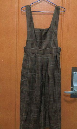 學院風背帶裙 日系