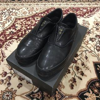HUF Dylan Slip On Leather Black