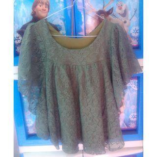 atasan brukat blouse