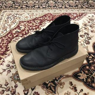 Clarks Originals Desert Boots Leather Black